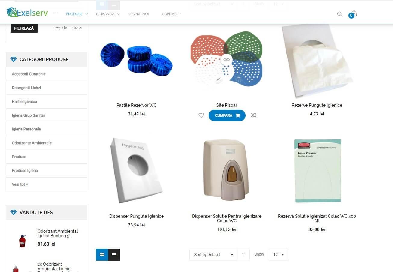 Servicii creare Magazin Online WooCommerce